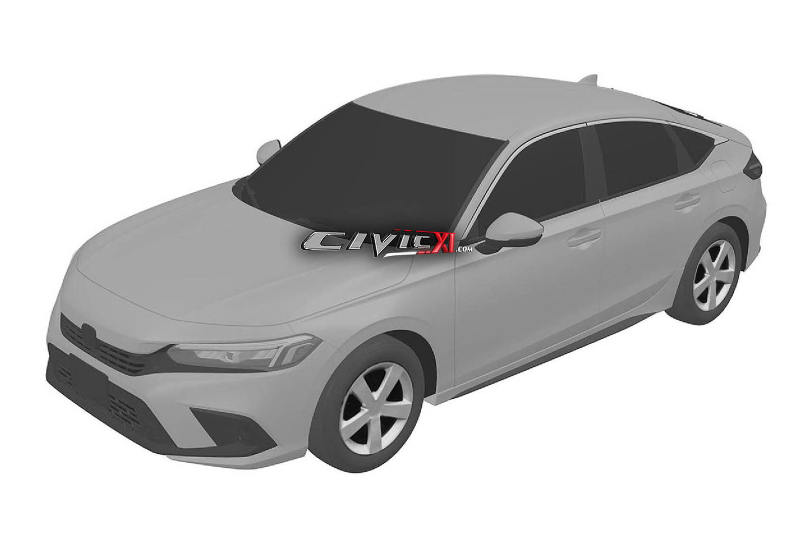 2022 Honda Civic previewed in leaked patent images | Autocar