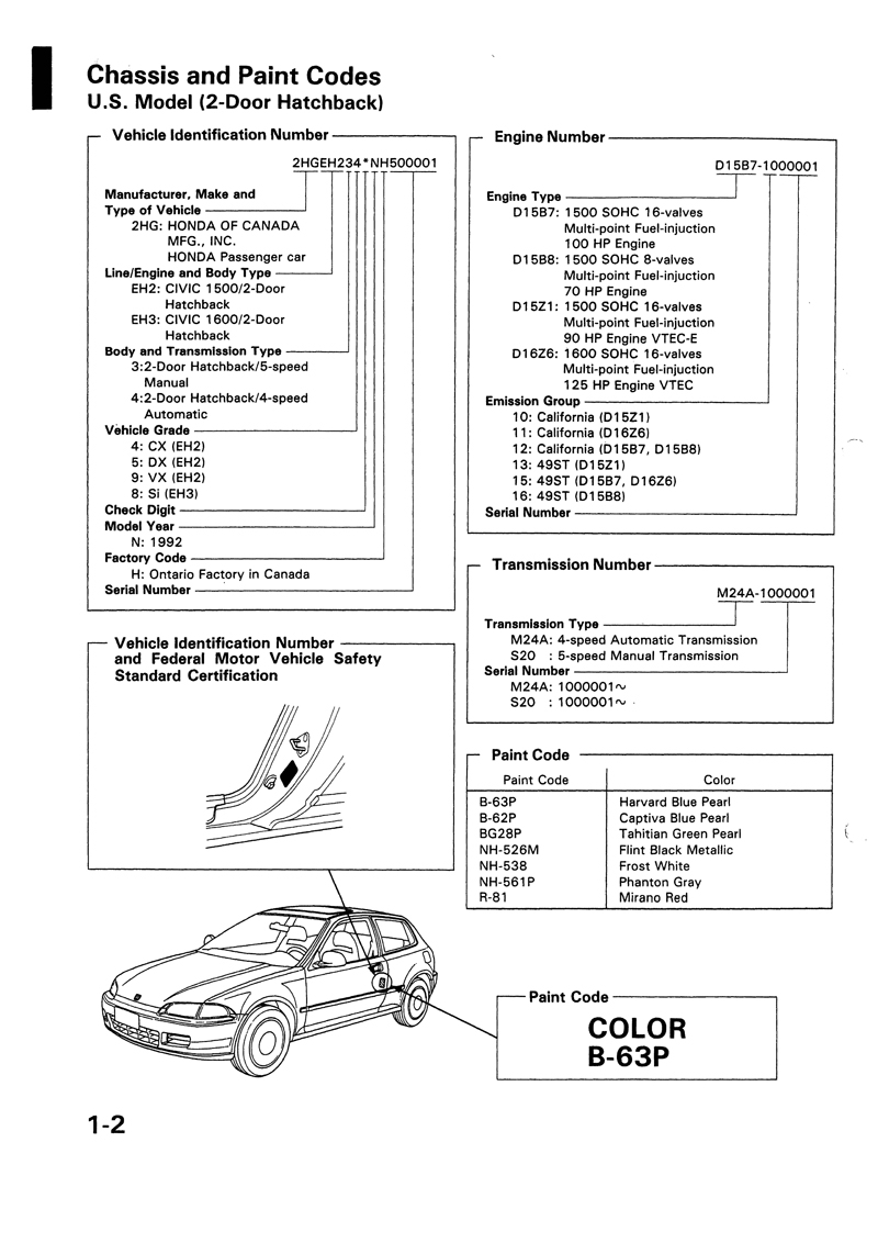 2000 Honda Odyssey Repair Manual
