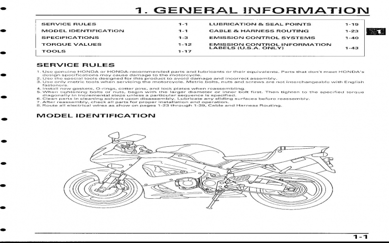 2001 Honda Cbr929rr Service Manual Pdf Honda Owners Manual
