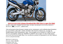 2007 HONDA 919 OWNERS MANUAL PDF