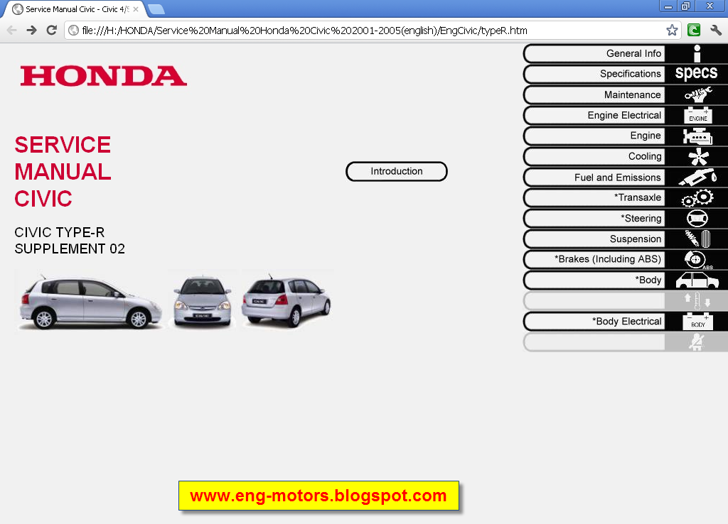 Honda Civic 2012 Owners Manual Pdf Honda Civic
