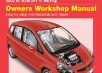 Honda Jazz 2002 2008 Owners Workshop Manual 4735 Honda