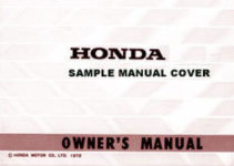 2004 Honda XR650L Motorcycle Owners Manual